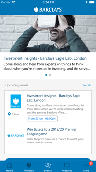Barclays homepage