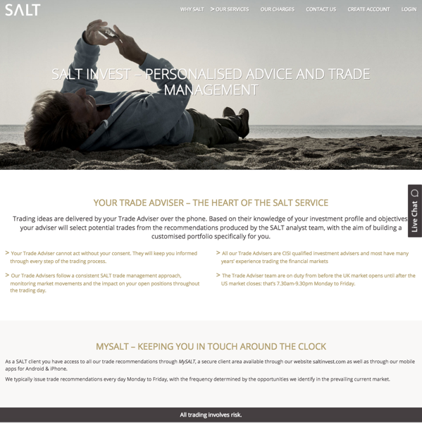 Salt trade advice page